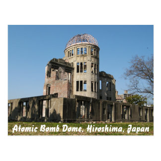 Atomic Bomb Dome, Hiroshima, Japan Postcard