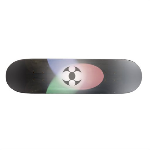 Atomic bomb skate board deck