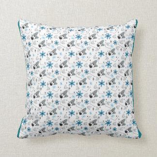 Atomic Bowling Pattern Cushion
