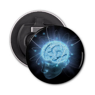 Atomic Brain Bottle Opener