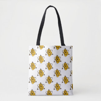 Atomic Coffee Beans Tote Bag (Gold)