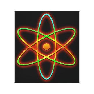 Atomic concept. canvas print