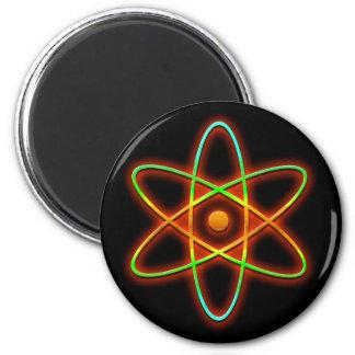 Atomic concept. magnet