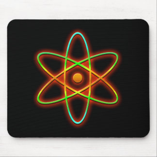 Atomic concept. mouse pad