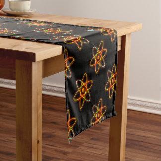 Atomic concept. short table runner