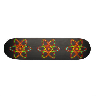 Atomic concept. skateboards