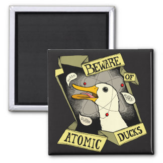 Atomic Duck magnet