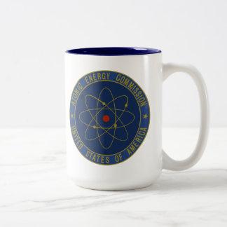 Atomic Energy Commission Two-Tone Coffee Mug