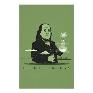 Atomic Energy Stationery