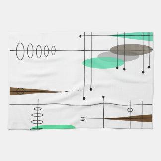 Atomic Era Inspired Mid-Century Design 14 Kitchen Towel