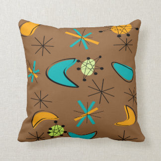 Atomic Era Inspired Pillow Design Mid-Century II