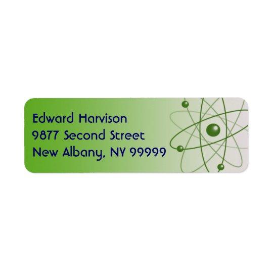 Atomic Glow Return Address Label
