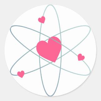 Atomic Heart Classic Round Sticker