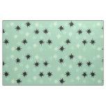 Atomic Jade & Mint Starbursts Cotton Fabric