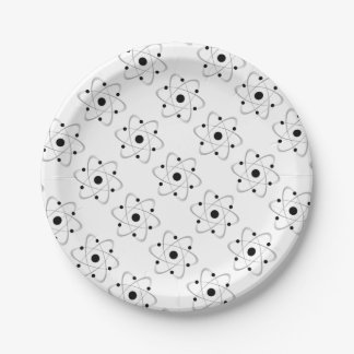 Atomic Mass Structure 6 7 Inch Paper Plate