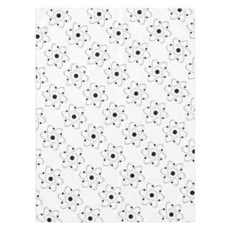 Atomic Mass Structure 6 Tablecloth