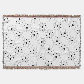 Atomic Mass Structure 6 Throw Blanket