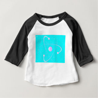 Atomic Mass Structure Background Baby T-Shirt