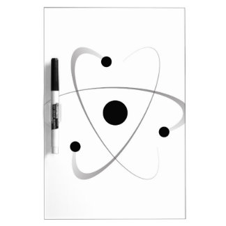 Atomic Mass Structure Dry Erase Board