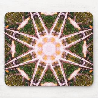 Atomic Model Mandala Mouse Pad
