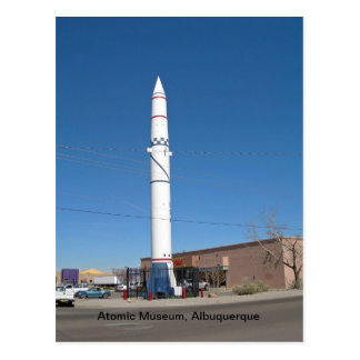 Atomic Museum, Albuquerque New Mexico Postcard