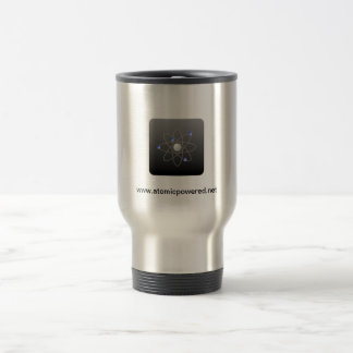 Atomic Powered Icon Travel Mug