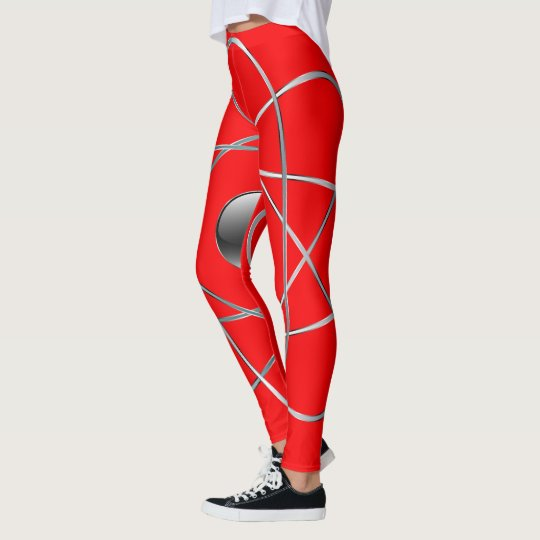 Atomic Red Leggings