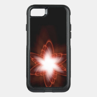 Atomic Red Swirl OtterBox Commuter iPhone 8/7 Case