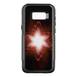 Atomic Red Swirl OtterBox Commuter Samsung Galaxy S8+ Case