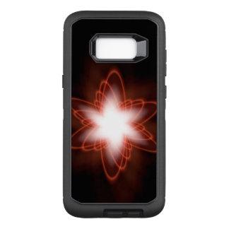 Atomic Red Swirl OtterBox Defender Samsung Galaxy S8+ Case