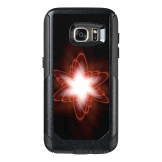 Atomic Red Swirl OtterBox Samsung Galaxy S7 Case