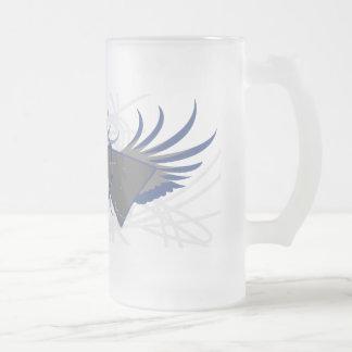 Atomic Rev Frosted Glass Mug