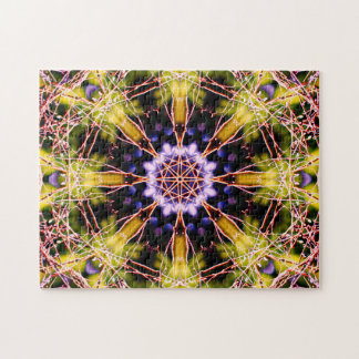 Atomic Science Mandala Jigsaw Puzzle