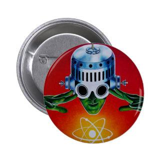 ATOMIC SPACEMAN 2 INCH ROUND BUTTON
