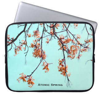 Atomic Spring by Uname_ Laptop Computer Sleeves