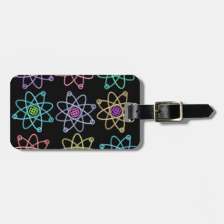 Atomic Structure Pattern Luggage Tag