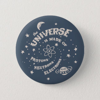 Atomic Universe Morons 2 Inch Round Button
