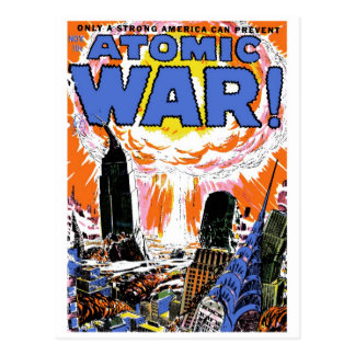 Atomic War! #1 Postcard