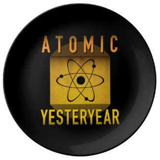 Atomic Yesteryear Plate