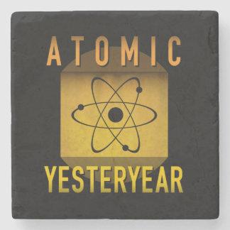 Atomic Yesteryear Stone Coaster