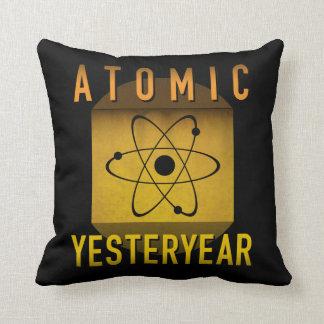 Atomic Yesteryear Throw Pillow