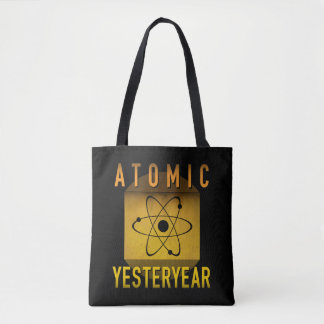 Atomic Yesteryear Tote Bag