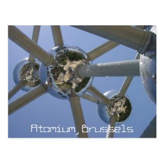 Atomium, Brussels, Belgium Postcard