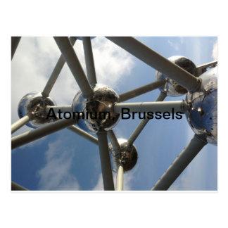 Atomium,Brussels Postcard