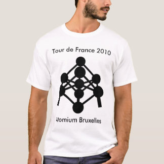 Atomium Bruxelles - Tour de France 2010 T-Shirt