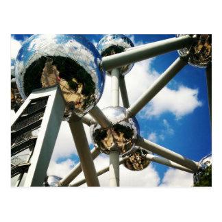 Atomium Postcard