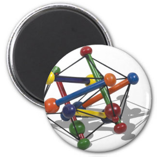 AtomModel012511 2 Inch Round Magnet