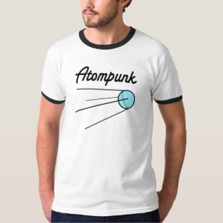 Atompunk Men Sputnik T-Shirt