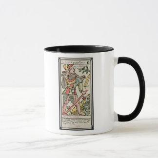Atonement, tarot card, French Mug