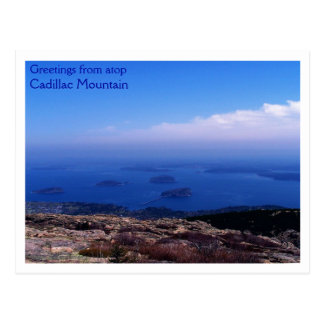 Atop Cadillac Mountain Postcard